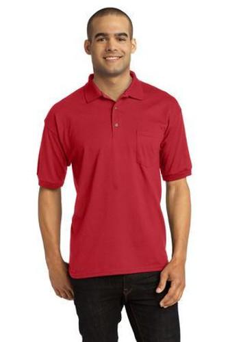 DryBlend 6-Ounce Jersey Knit Sport Shirt with Pocket