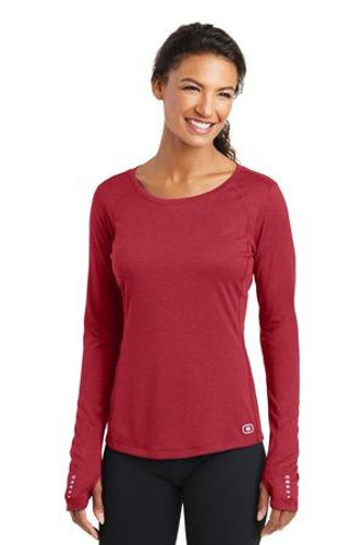 Ladies Long Sleeve Pulse Crew LOE321