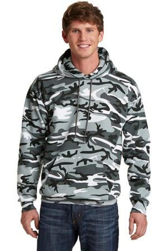 Core Fleece Camo Pullover Hooded Sweatshirt