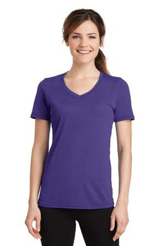 Ladies Performance Blend V-Neck Tee