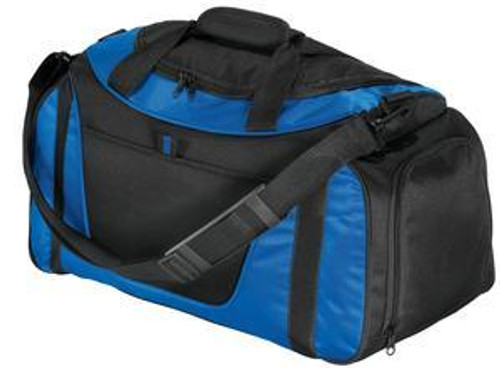 Small Two-Tone Duffel