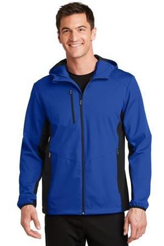 Active Hooded Soft Shell Jacket