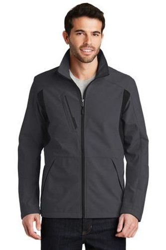 Back-Block Soft Shell Jacket