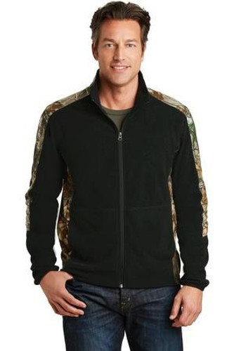 Camouflage Microfleece Full-Zip Jacket