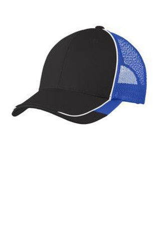 Colorblock Mesh Back Cap