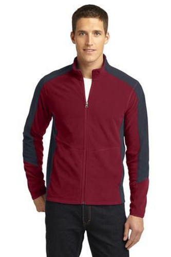 Colorblock Microfleece Jacket