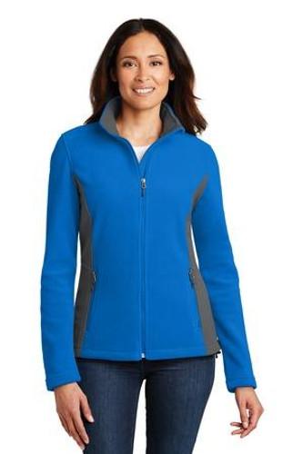 Ladies Colorblock Value Fleece Jacket
