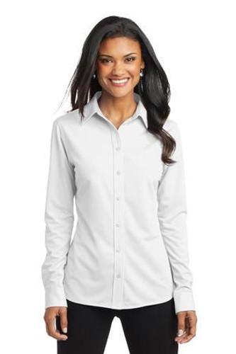 Ladies Dimension Knit Dress Shirt