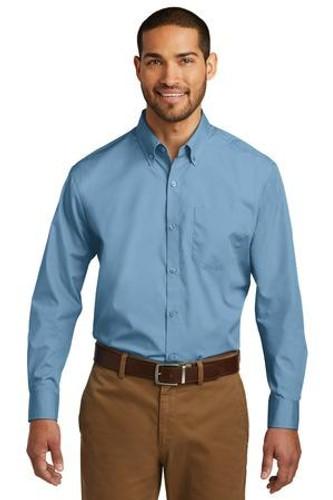 Long Sleeve Carefree Poplin Shirt
