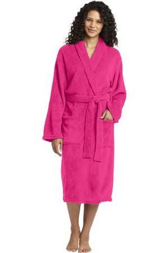 Plush Microfleece Shawl Collar Robe