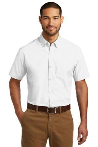 Short Sleeve Carefree Poplin Shirt