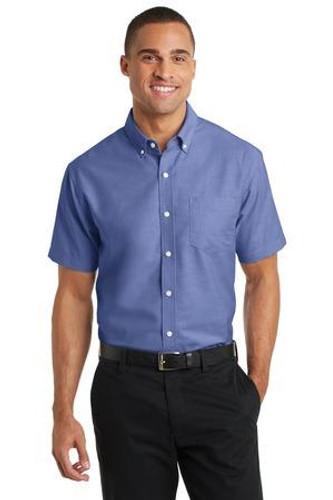 Short Sleeve SuperPro Oxford Shirt