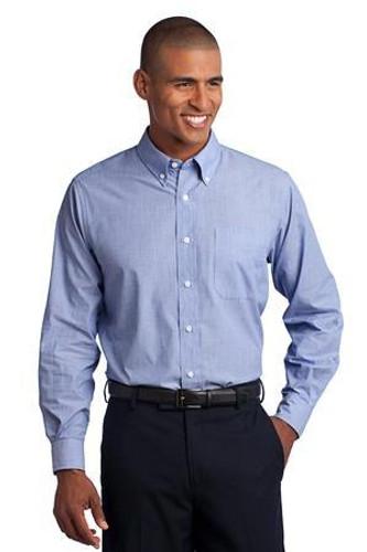 Tall Crosshatch Easy Care Shirt