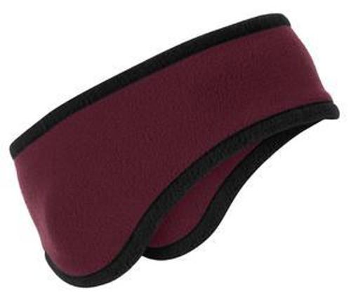 Two-Color Fleece Headband