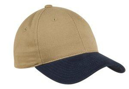 Two-Tone Brushed Twill Cap