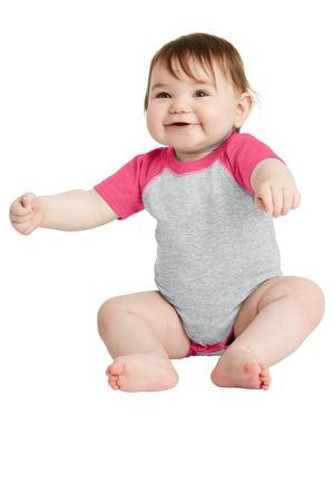 Infant Baseball Fine Jersey Bodysuit
