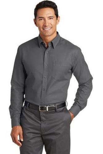 Non-Iron Diamond Dobby Shirt