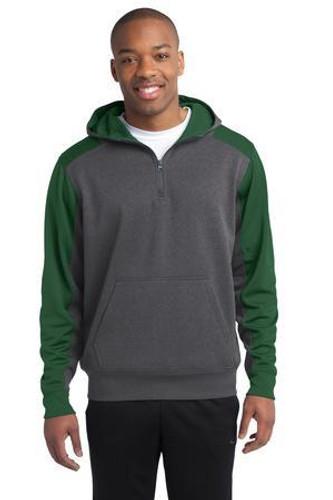 Tech Fleece Colorblock 1/4-Zip Hooded Sweatshirt