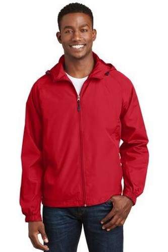 Hooded Raglan Jacket