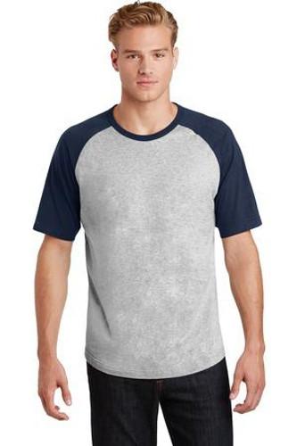 Short Sleeve Colorblock Raglan Jersey