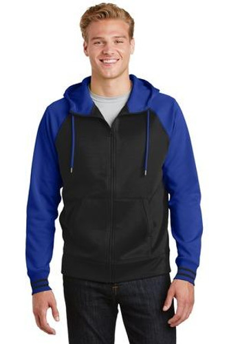 Sport-Wick Varsity Fleece Full-Zip Hooded Jacket