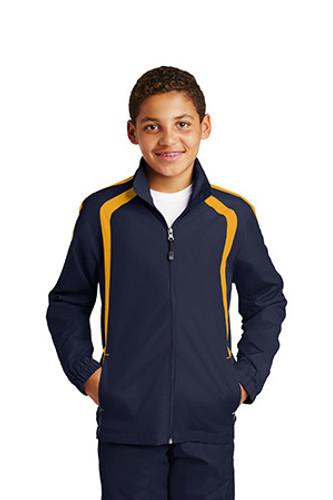 Youth Colorblock Raglan Jacket