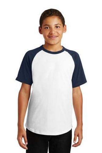 Youth Short Sleeve Colorblock Raglan Jersey