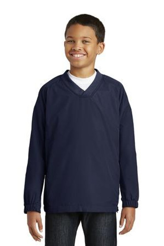 Youth V-Neck Raglan Wind Shirt