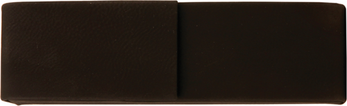 Black Leatherette Double Pen Case