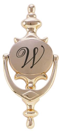 Oval Style Solid Brass Door Knocker