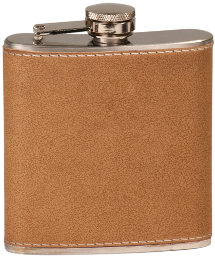 Leather Stainless Steel Flask