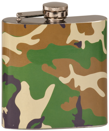 Camouflage Stainless Steel Flask