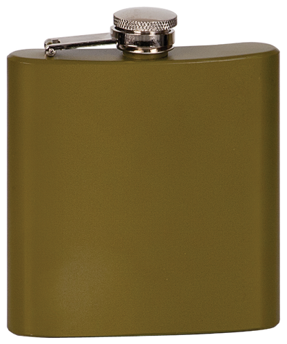 Matte Green Stainless Steel Flask