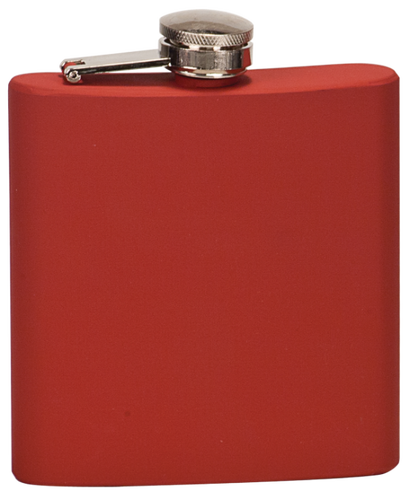 Matte Red Stainless Steel Flask