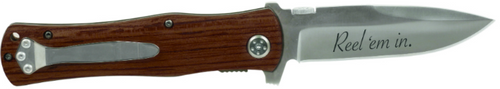 Wood Handle Knife