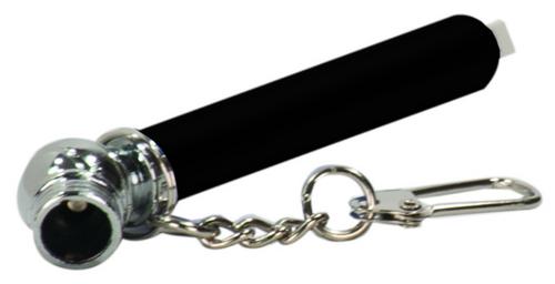 Black Tire Pressure Gauge with Keychain