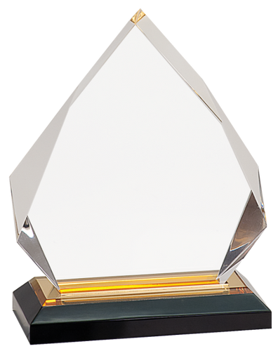 Gold Diamond Impress Acrylic with Base