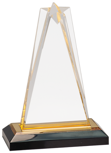 Gold Star Impress Acrylic with Base