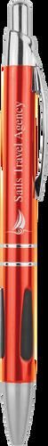 Gloss Red Ballpoint Pen with Gripper