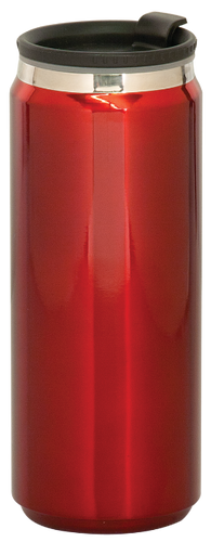 Gloss Red Stainless Steel King Can Travel Mug