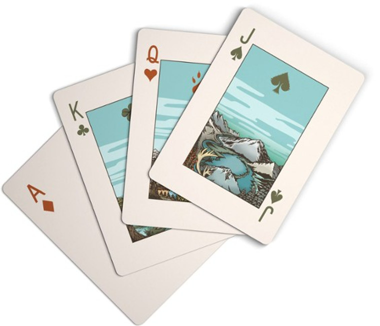 Parks Project National Park Playing Cards