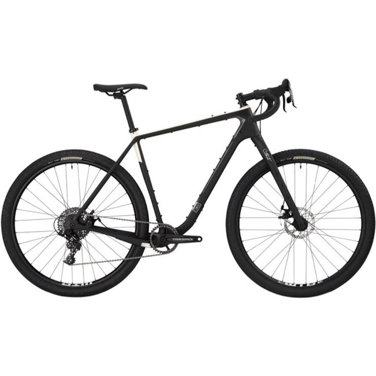 Salsa Cutthroat Carbon Apex 1 Complete Bike, Raw Carbon
