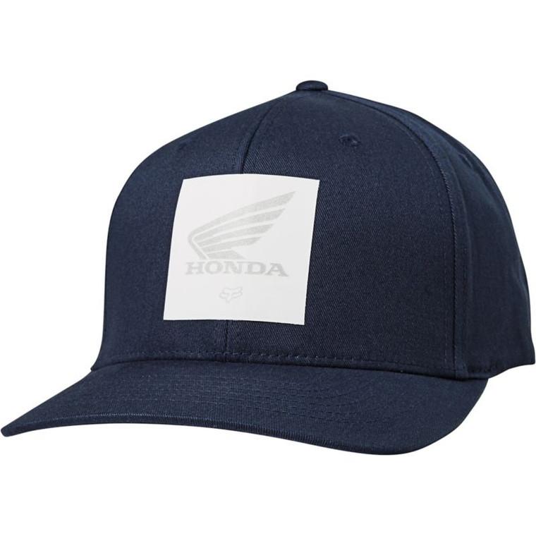 Fox Racing Honda Flexfit Hat - Midnight, Small/Medium