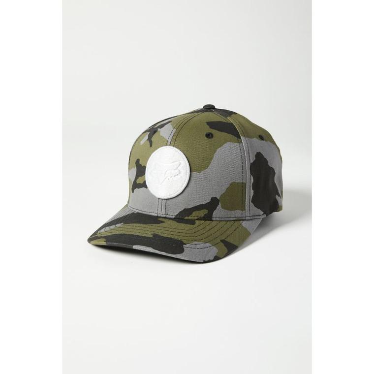Fox Racing Session Flexfit Hat - Green Camo, Large/X-Large