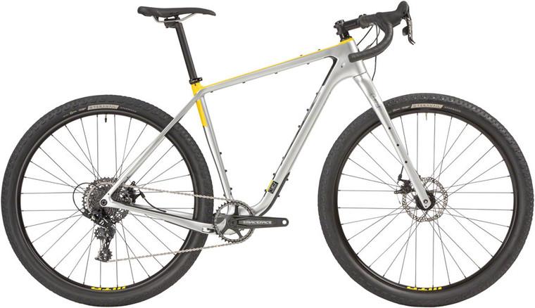 "Salsa Cutthroat Carbon Apex 1 Bike - 29"", Carbon, Silver"