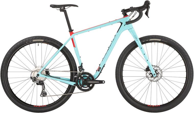 "Salsa Cutthroat Carbon GRX 600 Bike - 29"", Carbon, Blue"