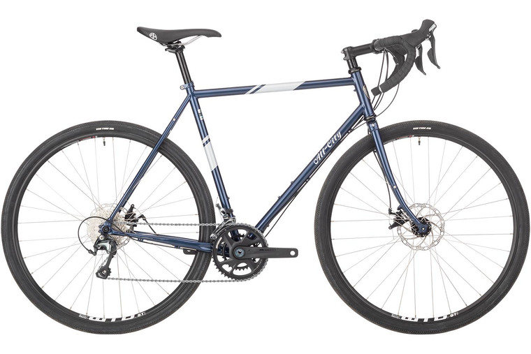 All-City Space Horse Bike - 700c, Steel, Tiagra, Neptune Blue, 55cm