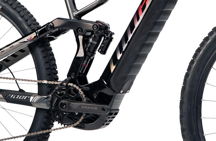 Niner RIP e9 frame is made with metal