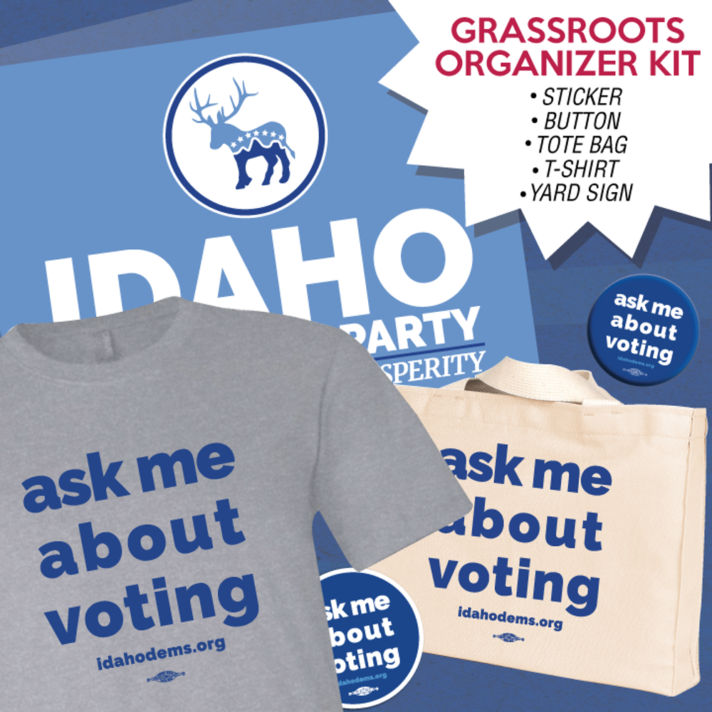 Idaho Dems Organizer Kit - Large