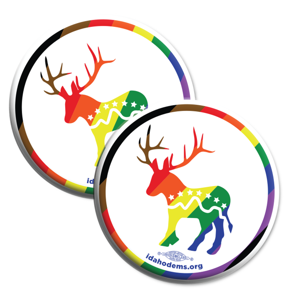 "Donkalope Pride (2.25"" Mylar Button -- Pack Of Two!)"